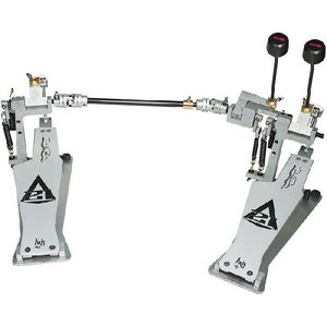 AXIS SABRE A21 DOUBLE PEDALS with MICROTUNE SPRING TENSIONER Silver|直輸入品|audio-mania