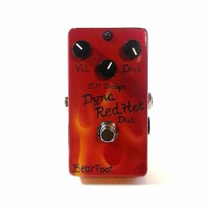 Bearfoot ベアフット エフェクター Dyna Red Hot Distortion DRHD|直輸入品|audio-mania