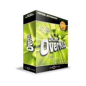 Best Service ベストサービス DRUMS OVERKILL ドラム・オーバーキル ドラム音源|直輸入品|audio-mania