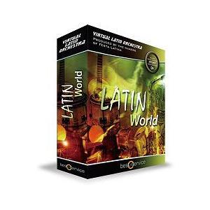 Best Service ベストサービス LATIN WORLD ラテン ワールド エスノ音源 DTM|直輸入品|audio-mania