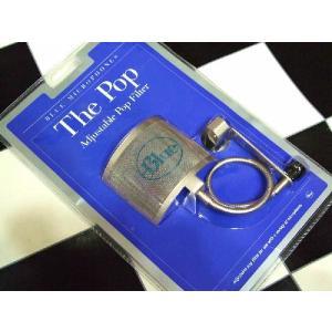 Blue アクセサリー The Pop Adjustable Pop Filter|直輸入品|ブルー|ポップフィルター|ポップガード|ポイ|新品|audio-mania