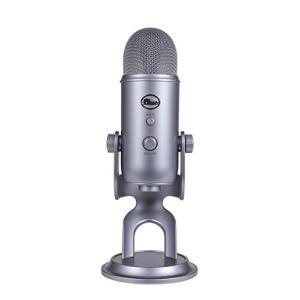 Blue Yeti Space Gray プロフェッショナルUSBマイクロフォン|直輸入品|audio-mania
