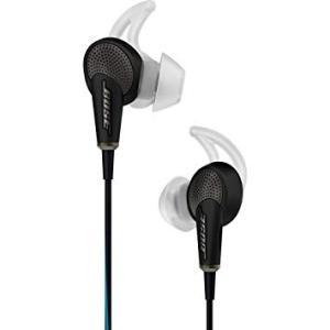 Bose ボーズ ノイズキャンセリング 有線 高音質 ヘッドホン QuietComfort 20 Black アコースティック QC20 Apple製品対応モデル│直輸入品|audio-mania