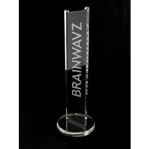 BRAINWAVZ ヘッドホンスタンド Zirconia ブレインウェイブズ ジルコニア ヘッドホン スタンド アクリル クリアー|audio-mania