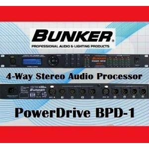 BUNKER BPD-1 Processor Spk Mng ラウドスピーカー マネジメントシステム|直輸入品|audio-mania