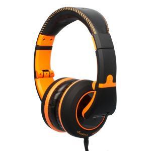 CAD ヘッドホン 有線 高音質 ヘッドフォン MH510 MH-510 Black Orange|直輸入品|audio-mania