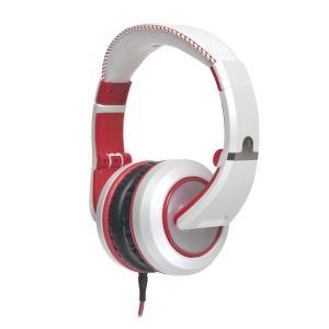 CAD ヘッドホン 有線 高音質 ヘッドフォン MH510 MH-510 White Red|直輸入品|audio-mania