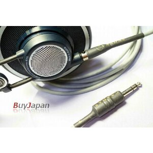 Cardas Audio カルダスオーディオ 3m グレー ヘッドホン リケーブル 交換用ケーブル Mini XLR AKG 用|audio-mania
