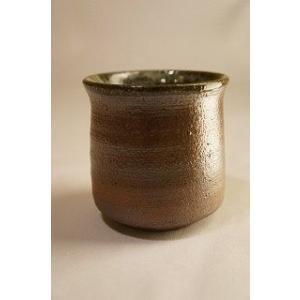 焼〆 湯呑み カップ 陶磁器 上野焼 天神窯 Agano-yaki Tenjingama ceramic cup audio-mania