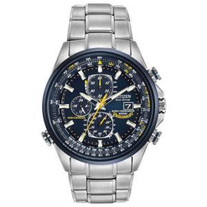 CITIZEN シチズン ECODRIVE エコドライブ BLUE ANGELS ブルーエンジェルス AT8020-54L クロノグラフ 腕時計|直輸入品|新品|audio-mania