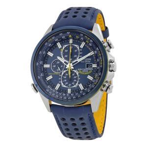 CITIZEN シチズン ECODRIVE エコドライブ BLUE ANGELS ブルーエンジェルス AT8020-03L クロノグラフ 腕時計|直輸入品|新品|audio-mania