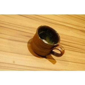 藁灰焼〆 コーヒーカップ 陶磁器 上野焼 天神窯 Agano-yaki Tenjingama ceramic coffee cup|audio-mania