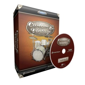 Toontrack SDX Custom&Vintage (Superior Line) トーントラック・カスタムアンドヴィンテージ|audio-mania