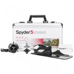 Datacolor データカラー Spyder 5 Studio スパイダー5 スタジオ S5SSR100  モニターキャリブレーションソフト 直輸入品 audio-mania