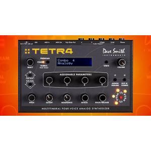 新品|Dave Smith デーブ・スミス Tetra Synthesizer Module TRETRA4 シンセサイザー