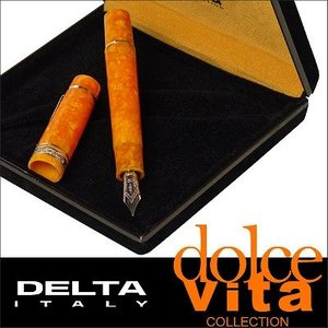 DELTA(デルタ) 万年筆 dolcevita oro ドルチェビータオロ|直輸入品|新古品|audio-mania