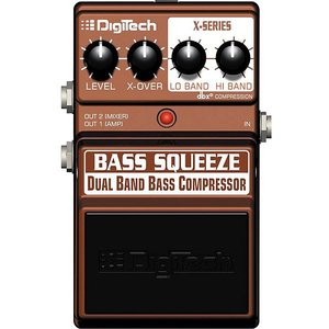 Digitech エフェクター XBS BASS SQUEEZE Dual Band Bass Compressor デジテック ベース スクイーズ|audio-mania