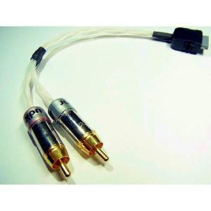 ヘッドホンアンプ Audio Minor 純銀線 iPod/iPhone/iPad用 ドックケーブル Dock to RCAケーブル (20cm)|audio-mania
