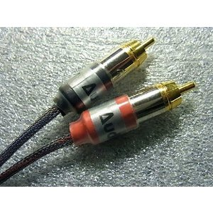ヘッドホンアンプ Audio Minor 4芯無酸素銅線 iPod/iPhone/iPad用 ドックケーブル Dock to RCAケーブル|audio-mania