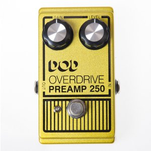 DOD Analog Overdrive プリアンプ 250  with True-Bypass & LED|直輸入品|audio-mania