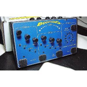 Boomerang エフェクター E-155 Chorus Delay Pedal ブーメラン E155 ギター|直輸入品|コーラス|ディレイ|audio-mania