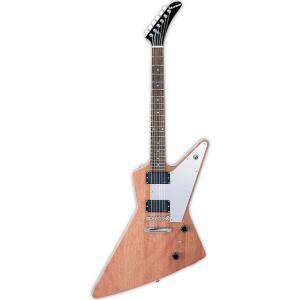 EDWARDS E-EX-160E Natural エドワーズ エレキギター ブラウン E-EX160E エクスプローラー シェイプ|国内正規品|audio-mania