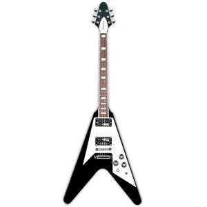 EDWARDS E-FV-100D Black エドワーズ エレキギター ブラック E-FV100D Vシェイプ|国内正規品|audio-mania