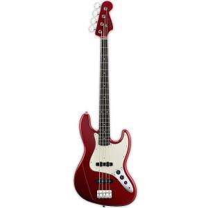 EDWARDS E-JB-100R/LT Candy Apple Red (MH) エドワーズ Jazz Bass ジャズベース ジャズベ タイプ audio-mania