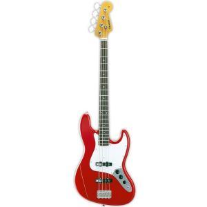 EDWARDS E-JB-100R/LT Trino Red エドワーズ Jazz Bass ジャズベース ジャズベ タイプ エレキベース レッド audio-mania