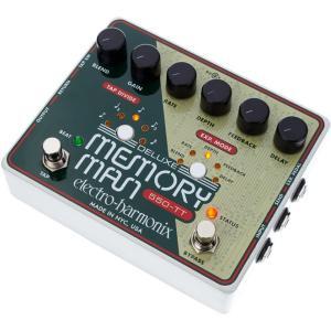 Electro Harmonix エフェクター Deluxe Memoryman Tap Tempo 550 アナログ ディレイ|直輸入品|audio-mania