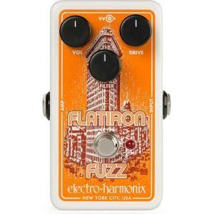 EHX Electro Harmonix エフェクター Flatiron Fuzz  フラットアイアン ファズ ディストーション│直輸入品 audio-mania