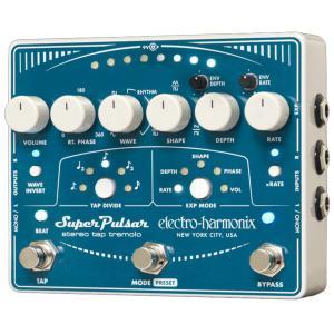 Electro Harmonix エフェクター Super Pulsar ステレオ タップ トレモロ|直輸入品|audio-mania