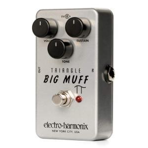 Electro Harmonix エフェクター Triangle Big Muff Pi  トライアングル ビッグマフ ディストーション サスティナー │直輸入品 audio-mania