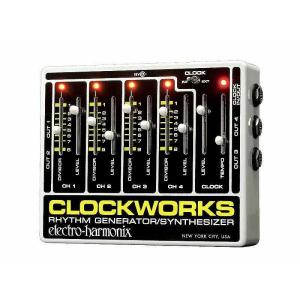 EHX Electro Harmonix Clockworks クロックワークス シグナルコンバーター リズム ジェネレーター Clock|audio-mania