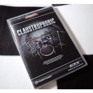 Toontrack EZX CLAUSTROPHOBIC トーントラック EZ Drummer用拡張音源|直輸入品|audio-mania