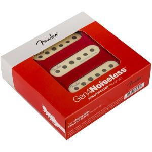 Fender Gen 4 Noiseless Stratocaster Pickup Set フェンダー ノイズレス ピックアップ G4 直輸入品|audio-mania