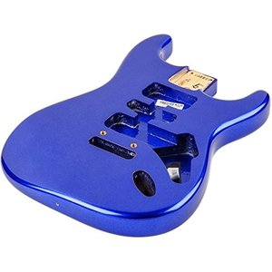 Fender USA 純正パーツ Stratocaster HSH Alder Body Modern Bridge Mount Mystic Blue 998001795[直輸入品]|audio-mania