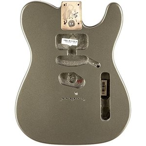 Fender USA 純正パーツ Telecaster SSH Alder Body Modern Bridge Mount JADE PEARL METALLIC 998004719 [直輸入品]|audio-mania