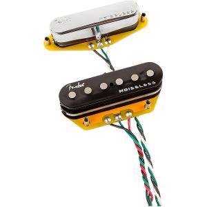 Fender Gen 4 Noiseless Telecaster Pickup Set フェンダー ノイズレス ピックアップ G4 直輸入品|audio-mania