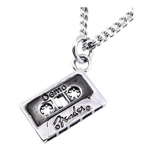 Fender King Baby Cassette Necklace フェンダー カセットテープ ネックレス|直輸入品|新品|audio-mania