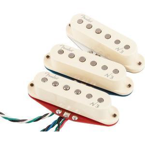 Fender フェンダー ピックアップ N3 Stratocaster Noiseless Single Coil pickup set N-3|audio-mania