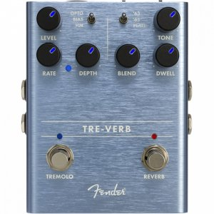 Fender フェンダー エフェクター TRE-VERB DIGITAL REVERB/TREMOL...
