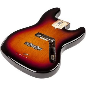 Fender USA フェンダー Jazz Bass Alder Body 3-Color Sunburst 0998007700 塗装済み ジャズベース ボディ|audio-mania