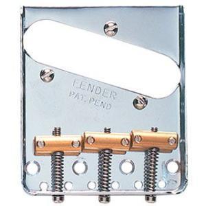 Fender USA ブリッジ Vintage Tele Bridge chrome|直輸入品|ブリッジ|テレキャスター テレキャス|audio-mania