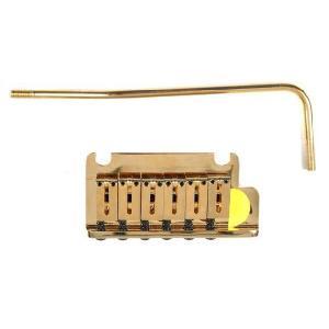 Fender ブリッジ American Standard Stratocaster Tremolo Gold|直輸入品|ブリッジ|audio-mania