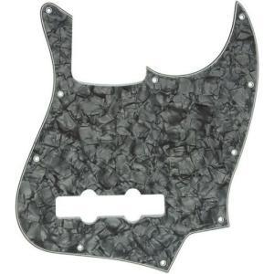Fender ピックガード Pickguard Standard Jazz Bass 10 Holes Black Pearl 4 Ply 992171000|直輸入品|audio-mania
