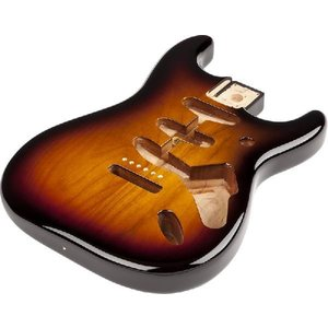 Fender Mexico Stratocaster SSS Alder Body Vintage Bridge Mount, 3-Color Sunburst 998003700│直輸入品|audio-mania