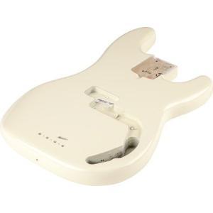 Fender フェンダー USA Precision Bass Alder Body, Olympic White 998009705 プレシジョンベース ボディ|audio-mania