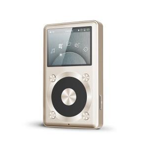 FiiO フィーオ X1 Gold ポータブル・ハイレゾ・ミュージックプレイヤー 海外版 直輸入品  audio-mania