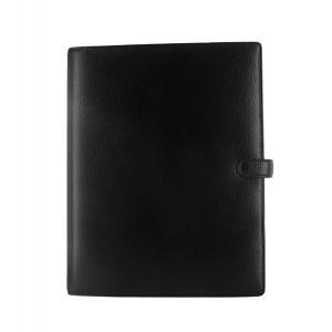 Filofax ファイロファックス システム手帳 Finsbury フィンスバリー Black A4サイズ 025321 │直輸入品|audio-mania